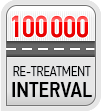 100 000 re-treatment interval